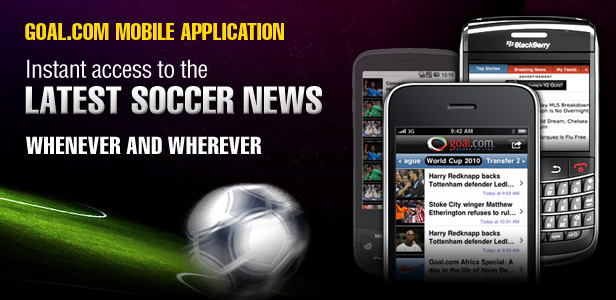 Get the Latest World Cup 2010 News on Your BlackBerry