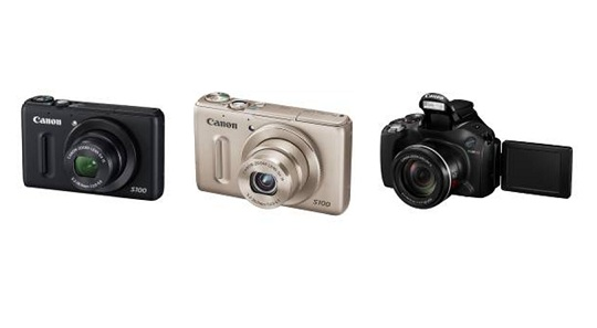 canon introduces powershot s100 and powershot sx40 in singapore