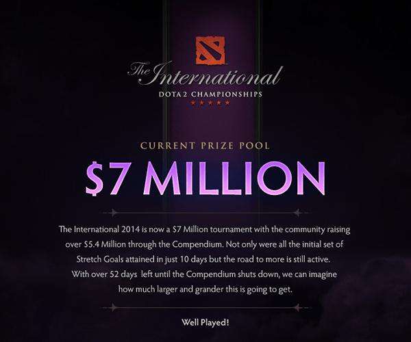Dota 2 tournament reached biggest prize pool in history | TechieLobang