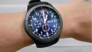 Samsung Introduces Gear S3 frontier (LTE) with eSIM