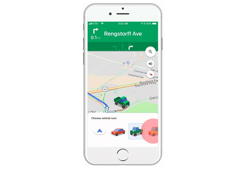 New Vehicle Icons on Google Maps for iOS | TechieLobang