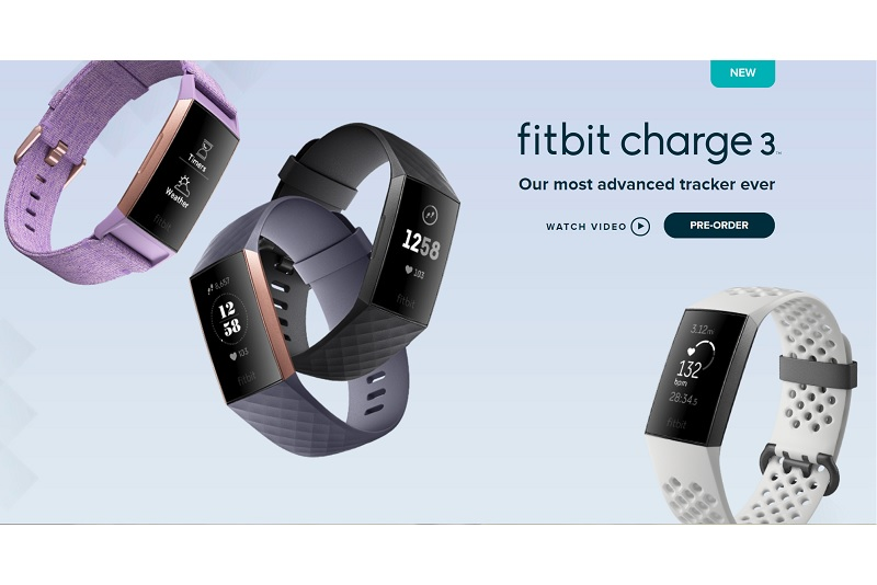 Fitbit Launches Charge 3, Available from November | TechieLobang