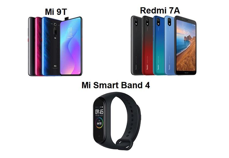 Xiaomi Launches Mi 9T, Redmi 7A and Mi Smart Band 4 in Singapore