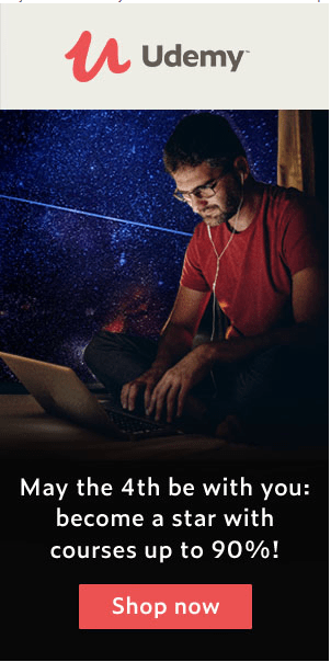 May the 4th be with you: ¡conviértete en una estrella con cursos con hasta un 90 % de descuento!
