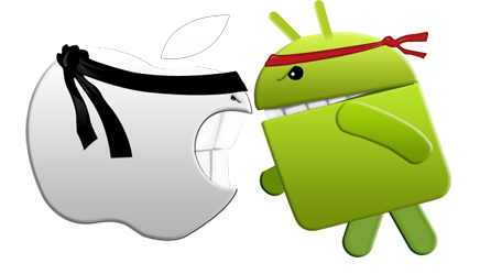 Android 5.0 Lollipop VS iOS 8