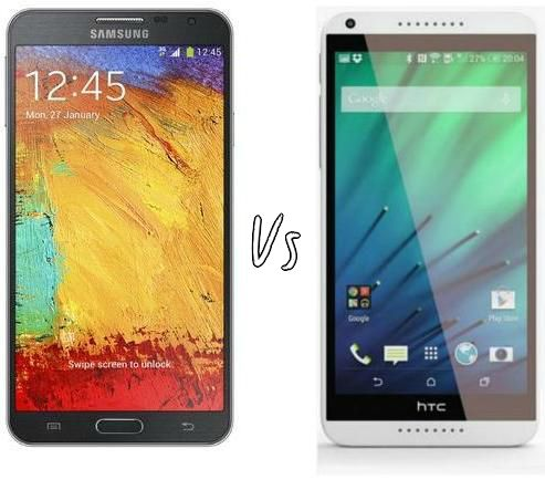 HTC Desire 816 vs Samsung Note 3 Neo | comparison