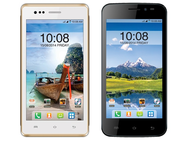Intex Aqua 4.5E and Aqua Q1