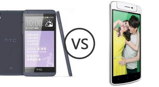 HTC Desire 816 vs Oppo R1 X comparison
