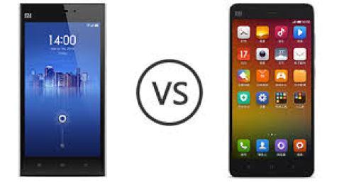 xiaomi mi3 vs mi4 comparison