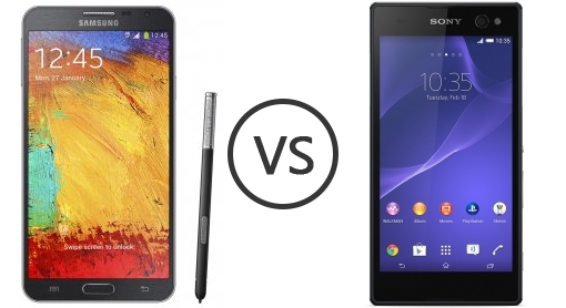 Sony Experia C3 vs Samsung Note 3 Neo