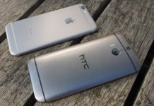 HTC One M9 vs Apple Iphone 6 plus comparison