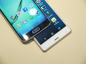 s7 vs iphone 5 vs xperia z3