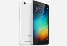 Xiaomi Mi 4i Specifications