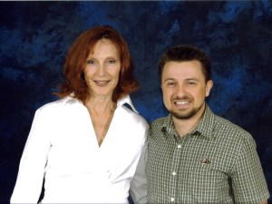 Gates McFadden pictured with Michael Srock 2006