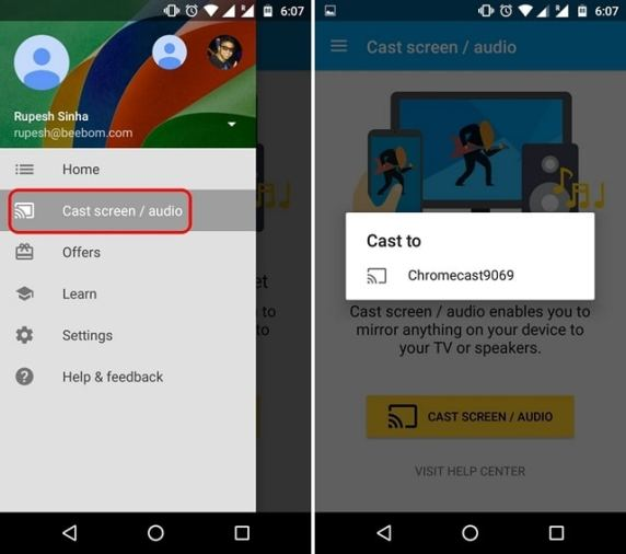 Casting Kodi's Content via Chromecast