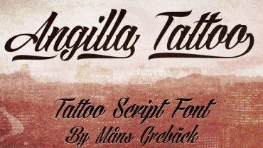 tattoo fonts