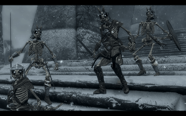 Armored Skeletons and the Walking Dead