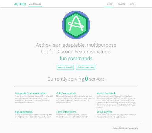Aethex Bot