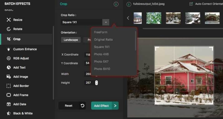 Cropping and Tweaking Your Images
