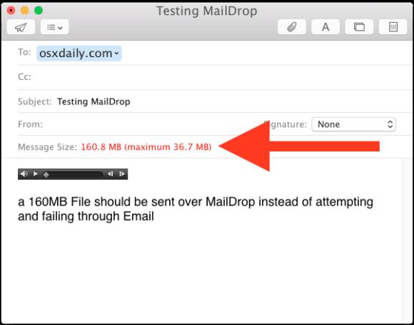 Emailing Huge Files