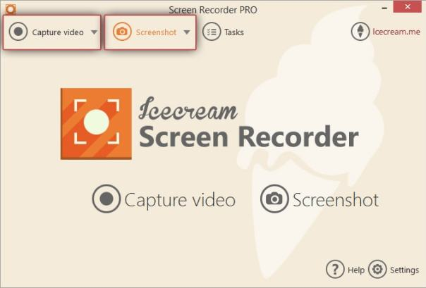 Ice cream Screen Recorder