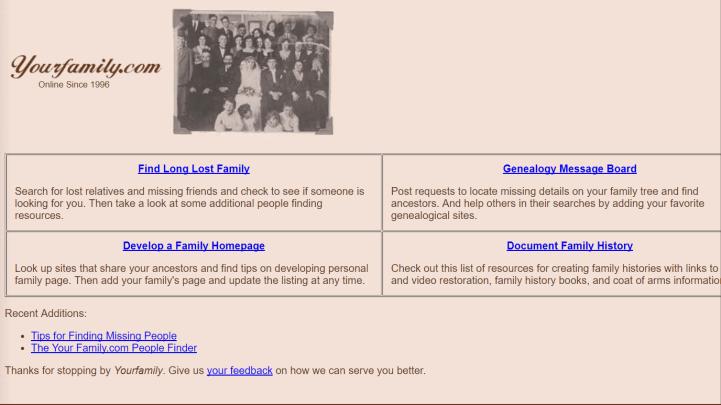 yourfamily.com