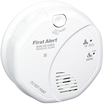 SecureGuard 36-Hr Smoke Detector Wi-Fi Camera