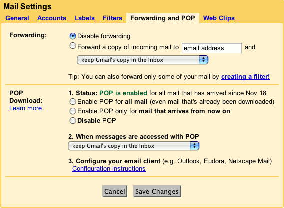 How to set up auto forward email in your Gmail accounts