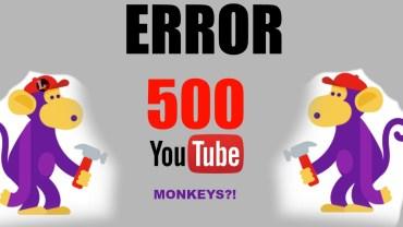 How to solve YouTube 500 Internal Server Error