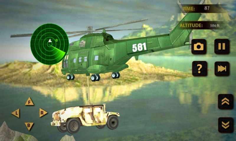 US Army Transport Plane: Heavy Duty Transport: