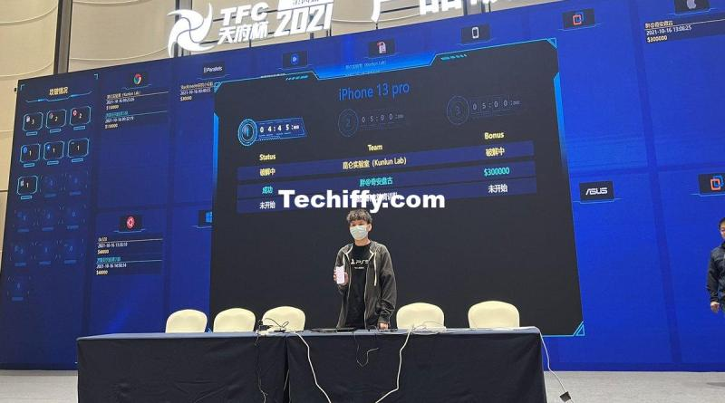 First entry for day2 of TianfuCup, Kunlun Lab pwned iPhone 13 Pro remote code ex...