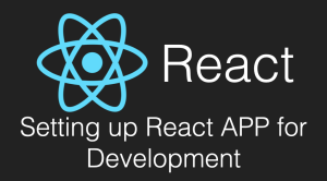 Settings Required By React Js App for Local Development