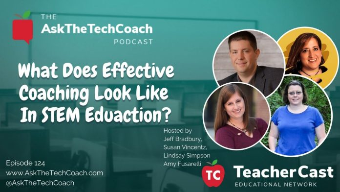 Tech Coaching & STEM Education: How Does That Look?