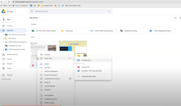Converting Image and PDF to Google Docs