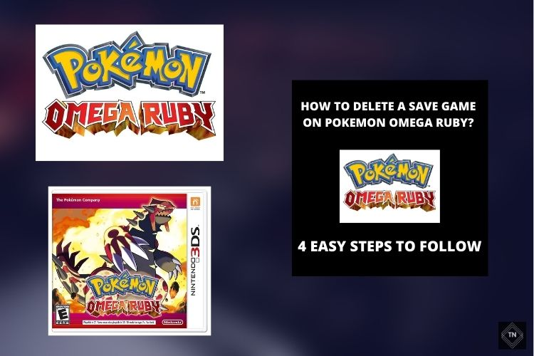 How To Delete Save Data On Pokemon Omega Ruby? 4 Easy Steps