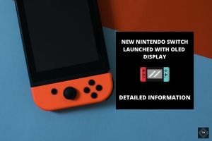 Nintendo Reveals The New Nintendo Switch OLED Display   See What It Has To Offer