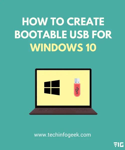 Create-Bootable-USB-for-Windows-10