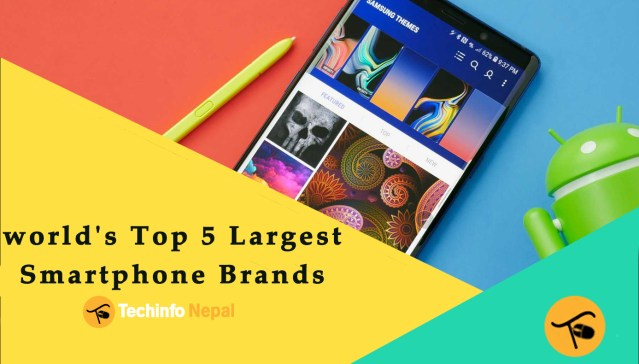 World's Top 5 Largest Smartphone Brands in 2020 2