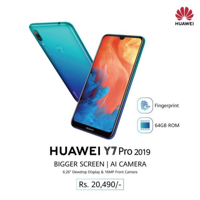Huawei Y7 Pro Price in Nepal