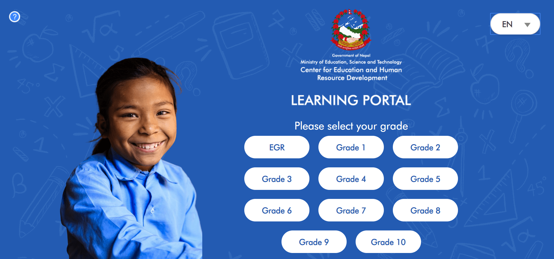 Government of Nepal launches online learning portal For class 1 to 10
