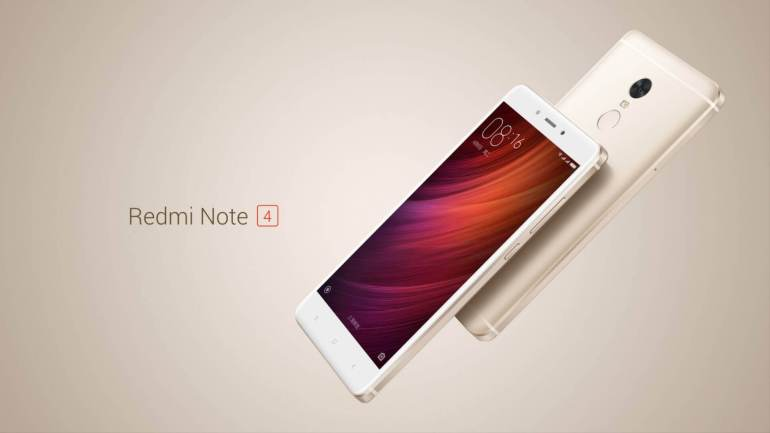 Xiaomi Redmi Note 4 launched in China