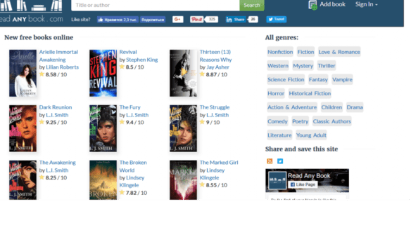 5 best websites to read books online free with no downloads.
