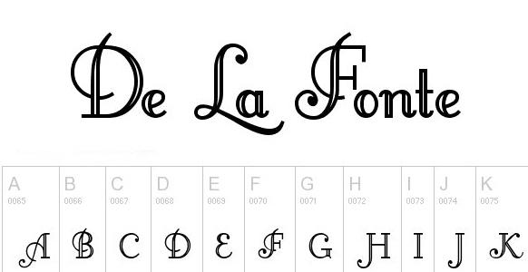 17 BEST FREE MONOGRAM FONTS to use in 2019