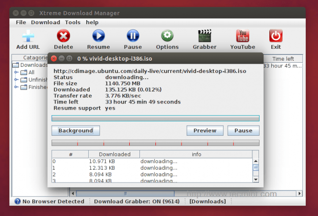 download manager for linux