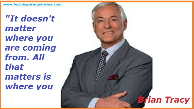 Motivational Quotes on Brian Tracy