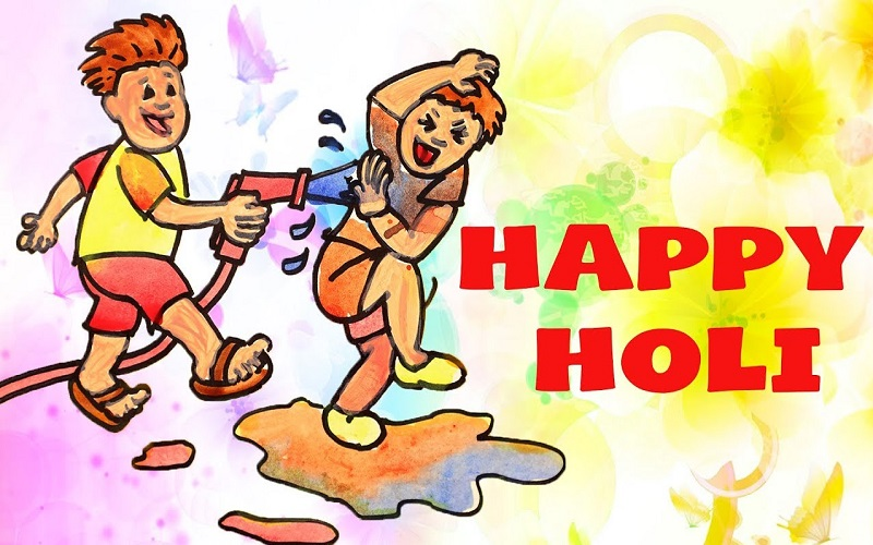 Happy Holi Quotes in English, Best Holi Images