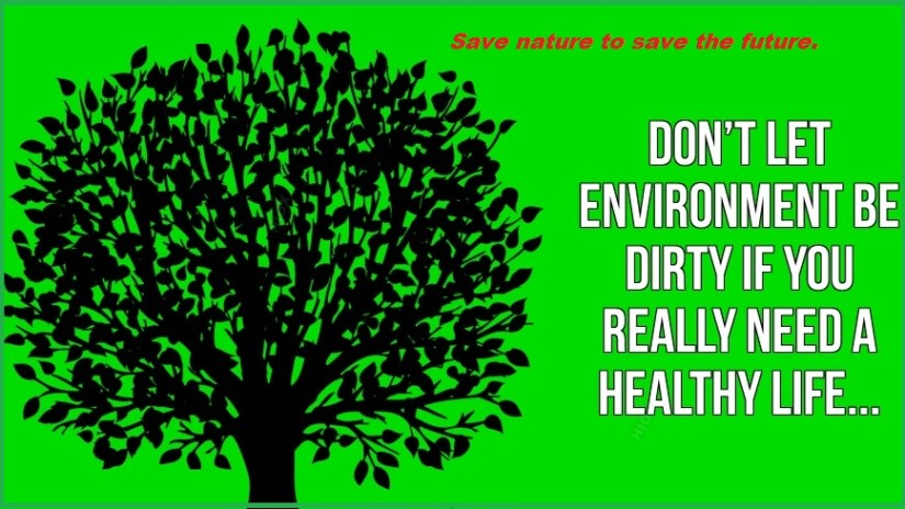 Save nature to save the future.