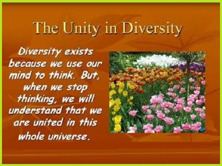 SLOGANS ON UNITY IN DIVERSITY 1