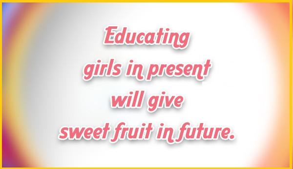 Slogans on girl child education 3