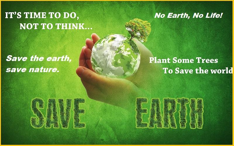 No Earth, No Life!